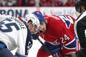 Waiting in line at the Riverside Roxy sipping espresso…Jets vs Canadiens round 2 preview…